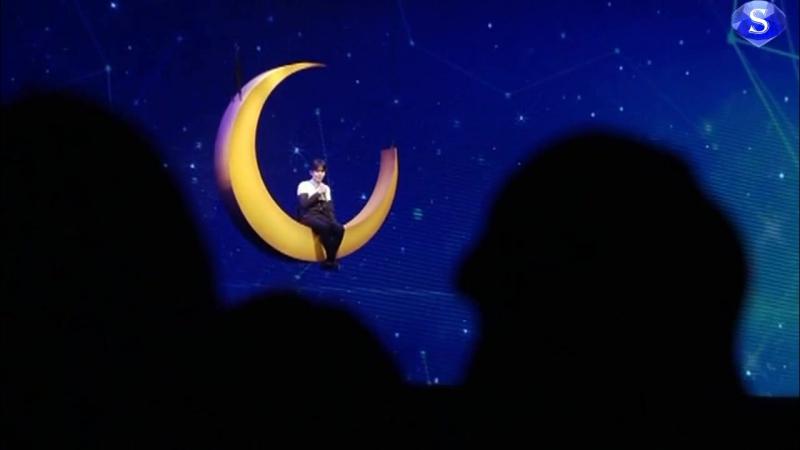 Super Junior (슈퍼주니어) - 三日月 (Mikazuki) (Crescent Moon) (려욱 (Ryeowook) Solo) [Super Show 6 (SS6) In Japan, Tokyo] (рус.саб)