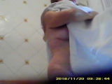 _50_year_old_babe_caught_with_tits_out_leaving_shower_480p