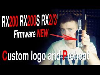 WISMEC REULEAUX RX2/3 RX200S Firmware Upgrade | Сustom logo and Preheat | Goblin mini V3 x3