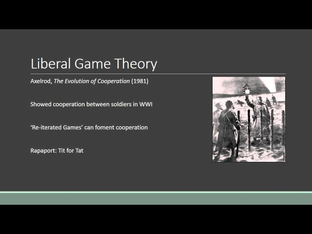 IR. 03 Game Theory