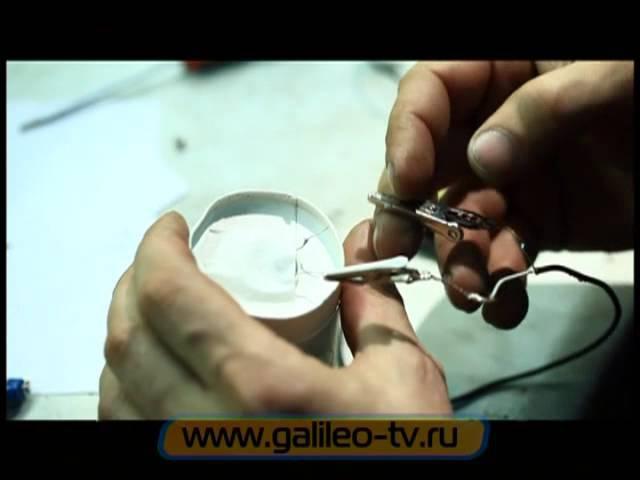 Галилео. Эксперимент. Микрофон