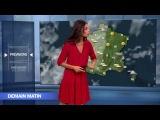 LA METEO de TATIANA SILVA le 2016 09 21 sur M6