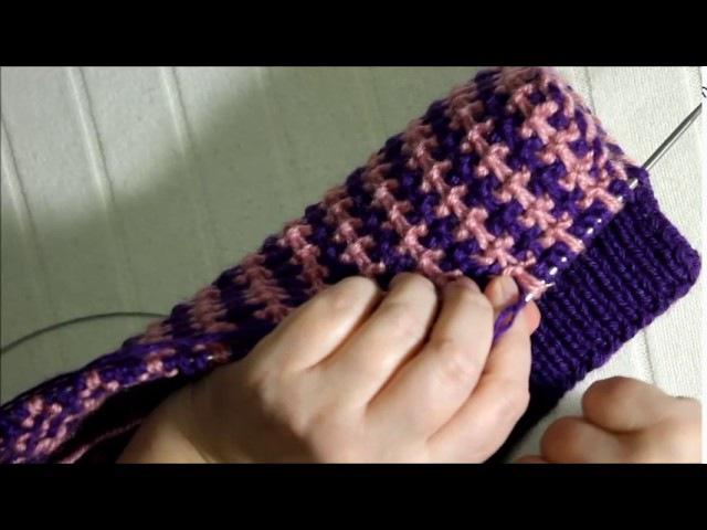 Уроки по вязанию спицами. Сапожки спицами с видео