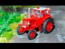 Мультики про Машинки для детей Трактор едет в Городе Сборник Видео для детей