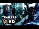 ALIEN 1-5 Complete Franchise TRAILER Compilation 1979-2017 Sigourney Weaver Sci-Fi Horror HD
