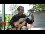 SALTARELLO by Vicenzo Gallilei, Guitar DANG THAO
