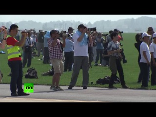 Top performance: 1st-ever air show kicks off in North Korea