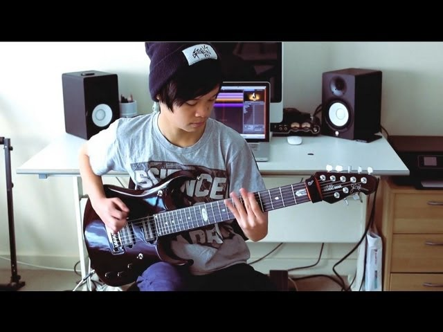 Ryan Siew - Music Man JP12-7 Bare Knuckle Black Hawk Metal Test - Ft. Francesco Filigoi
