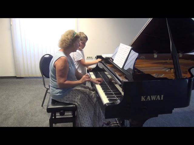 13.07.2017 Mira Marchenkos master-classes. Rodion Schakirov. Trogir Town Hall, Croatia
