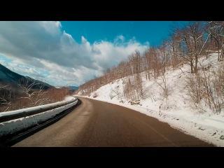 ★★★дорога Бетта - Геленджик - Кабардинка | 16.02.2017 ★★★