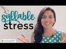 Pronounce English words correctly   Word Stress   Syllables   Pronunciation