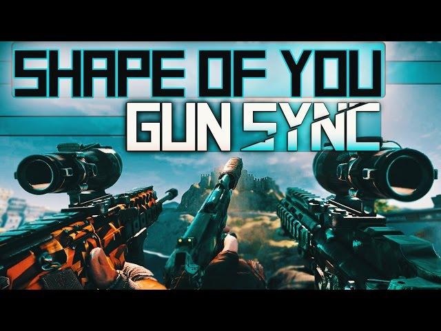 Rainbow Six: Siege - Gun Sync | Ed Sheeran - Shape of You (MAKJ Remix)
