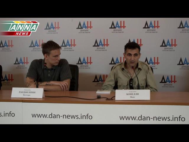 Макс Бонелли презентовал в Донецке свою книгу