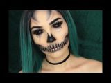 GLAM GLITTER SKULL  Halloween Makeup Tutorial