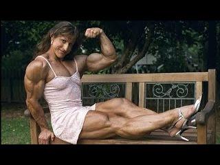 Female Bodybuilding!Collection Muscle women! мышцы девушек FBB! 筋肉少女