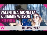 Valentina Monetta &amp Jimmie Wilson (San Marino 2017) Interview  Israel Calling 2017