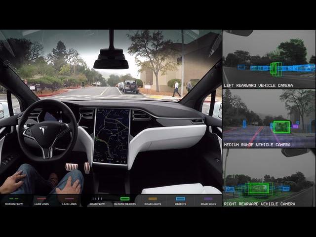Tesla Autopilot Full Self-Driving Hardware