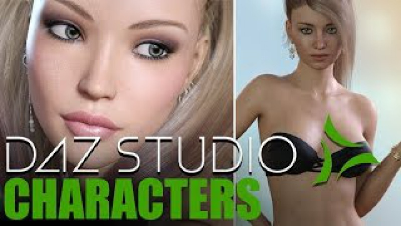 DAZ Studio Characters - Beginners Guide to figures - by Shannon Maer - DAZ Stud