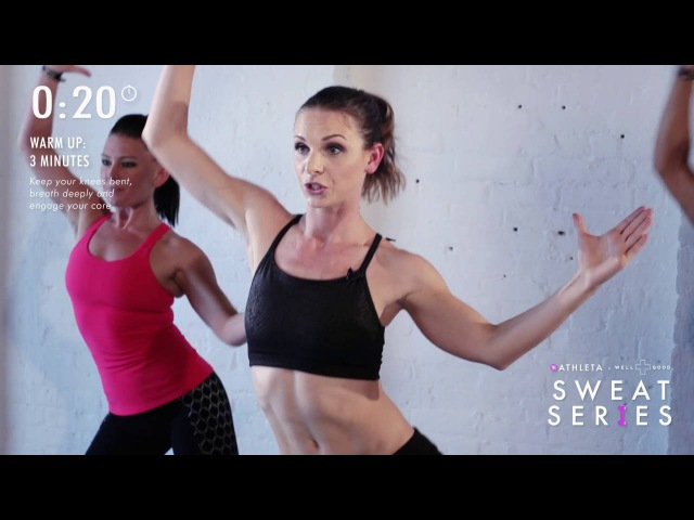 Want dancer abs Try this 6 minute workout from DanceBody's Katia Pryce Sweat Series