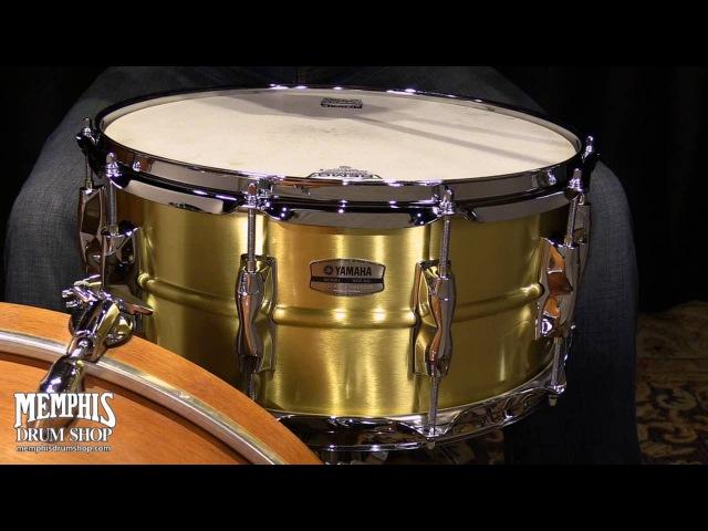 Yamaha 14 x 6.5 Recording Custom Brass Snare Drum
