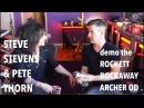 STEVE STEVENS PETE THORN demo the Rockaway Archer OD
