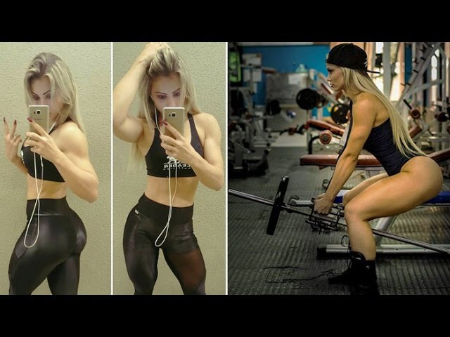 VIVIANE WINKLER - Wellness Athlete: Moves to Sculpt Your Butt and Thighs | Gym Training @ Brazil