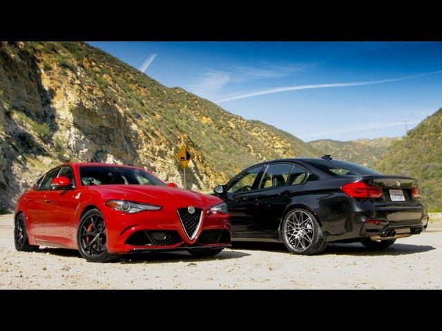 Alfa Giulia QV challenges BMW M3 on Amazing Road - Everyday Driver TV episode
