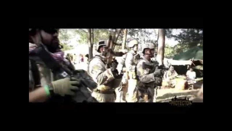 Protector XI. Airsoft music video