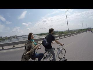 Более полутора тысяч велосипедистов катит по Ростову! 28 05 17