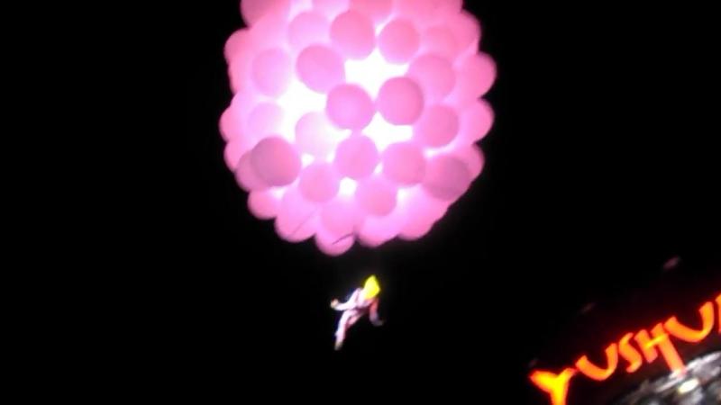 David Guetta шоу Ushuaïa Ibiza2017