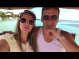 Наши любимые Алена и Иван меня поздравляют с выходом на уровень директора)