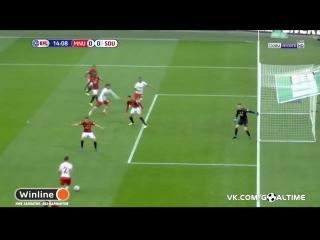 Манчестер Юнайтед - Саутгемптон. Незасчитанный гол Маноло Габбьядини