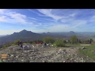 Пятигорск. Гора Машук и канатная дорога (только музыка)
