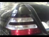 #55TONER Тонирование задних фар на MB Темно-черным глянцем от SCORPIO с вырезом. AMG стиль