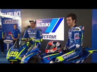 MotoGP 2017 Team Suzuki ECSTAR Launch