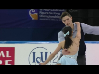 Four Continents Championships 2017. Pairs - FР. Sumire SUTO ⁄ Francis BOUDREAU AUDET