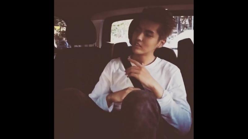 [VIDEO] 160903 Kris Wu Yifan Instagram Update: 😭😂