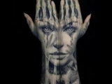 Tattoo artist Jak Connolly