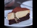 Шоколадный торт с кофейным муссом.