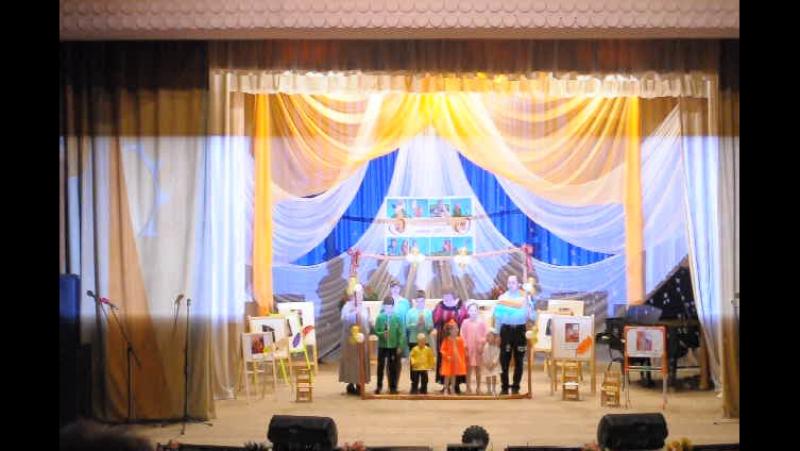 Конкурс Нижегородская семья 2017 выступление семьи Петуховых Воротынский район