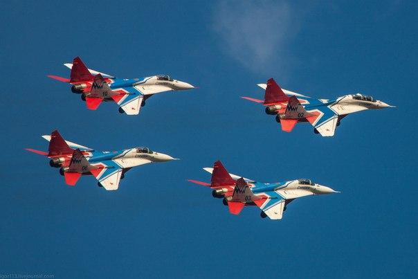 5 фактов о пилотажной группе «Стрижи»