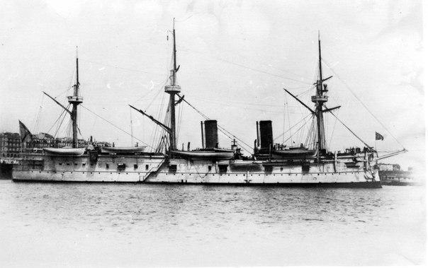 В 1904 году «Дмитрий Донской» взошёл в состав 2-й Тихоокеанской эскадры
