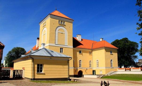 Орденский замок в Вентспилсе (Виндаве) является старейшей твердыней Латвии