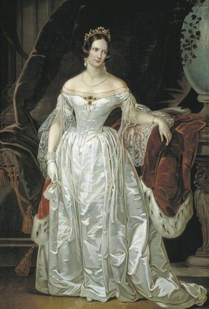 Венчание Николая I состоялось 13 июля 1817 года в храме Зимнего дворца