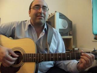 Мое исполнение под гитару - На недельку до второго я уеду в Дыманово