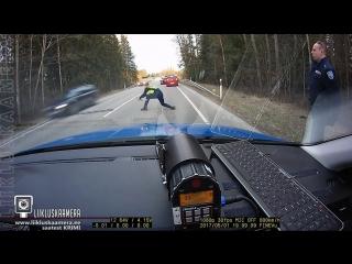 Метание ежа: наглядное пособие от эстонской полиции