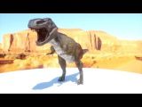 T-rex Zbrush, Substance Painter and Fstorm