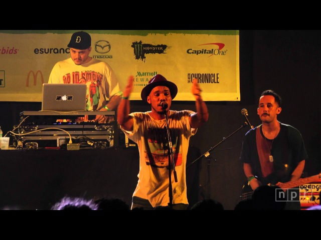 Anderson .Paak The Free Nationals: 'Room In Here' SXSW 2016 | NPR MUSIC FRONT ROW