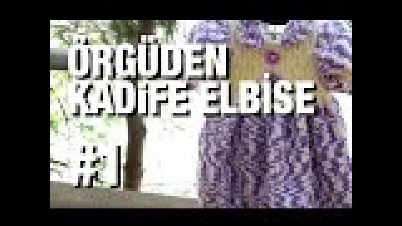 Örgüden Kadife Elbise Nasıl Örülür Detaylı Anlatım |9. Model (16)