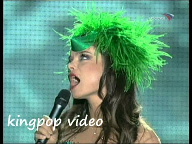 Наташа Королева Дельфин и русалка шоу Юдашкина 2008